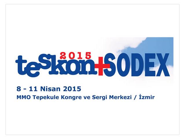 Teskon & Sodex 2015 İzmir Fuarı